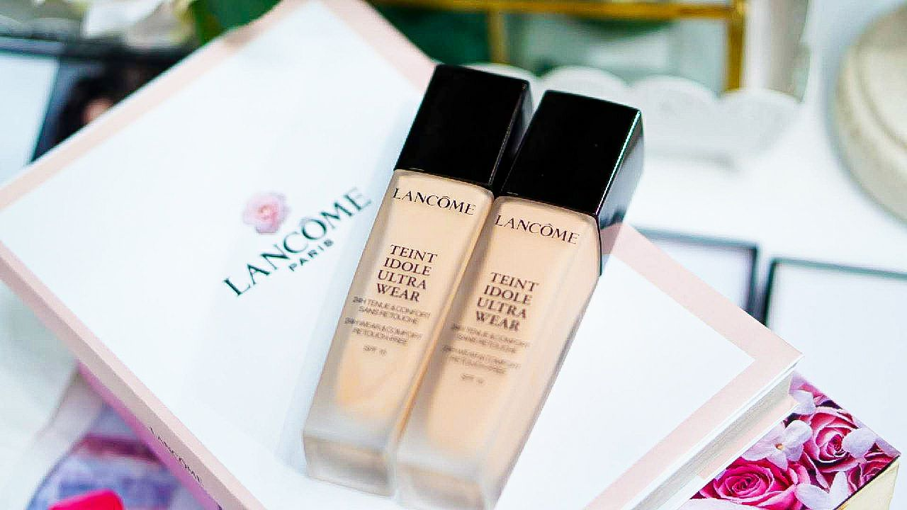 Lancome 24 Hours Foundation Teint Idole Ultra Wear Review 3