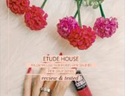 Pink SKull Series Etude House Nail Polish - Warna Fuschia