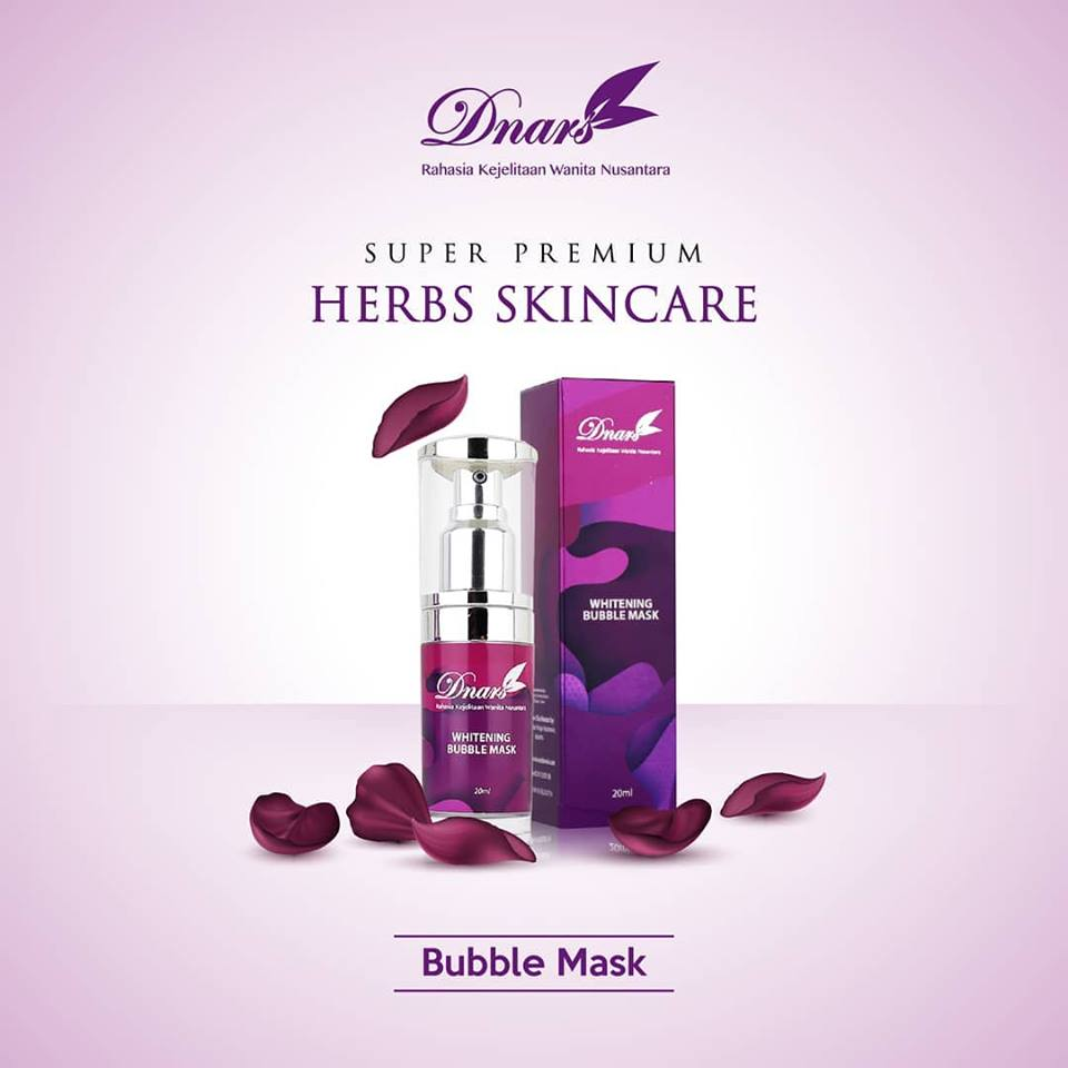 Dnars Bubble Mask - GlowliciousMe Blog