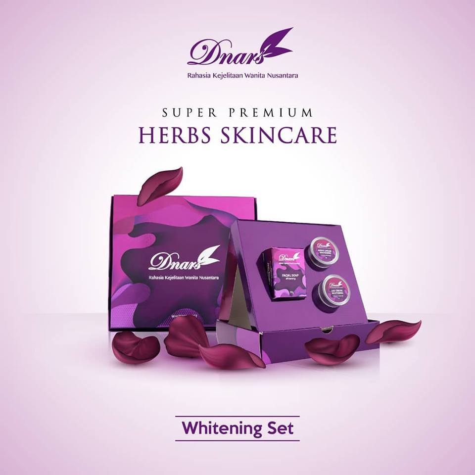 Dnars Whitening Set - GlowliciousMe Blog