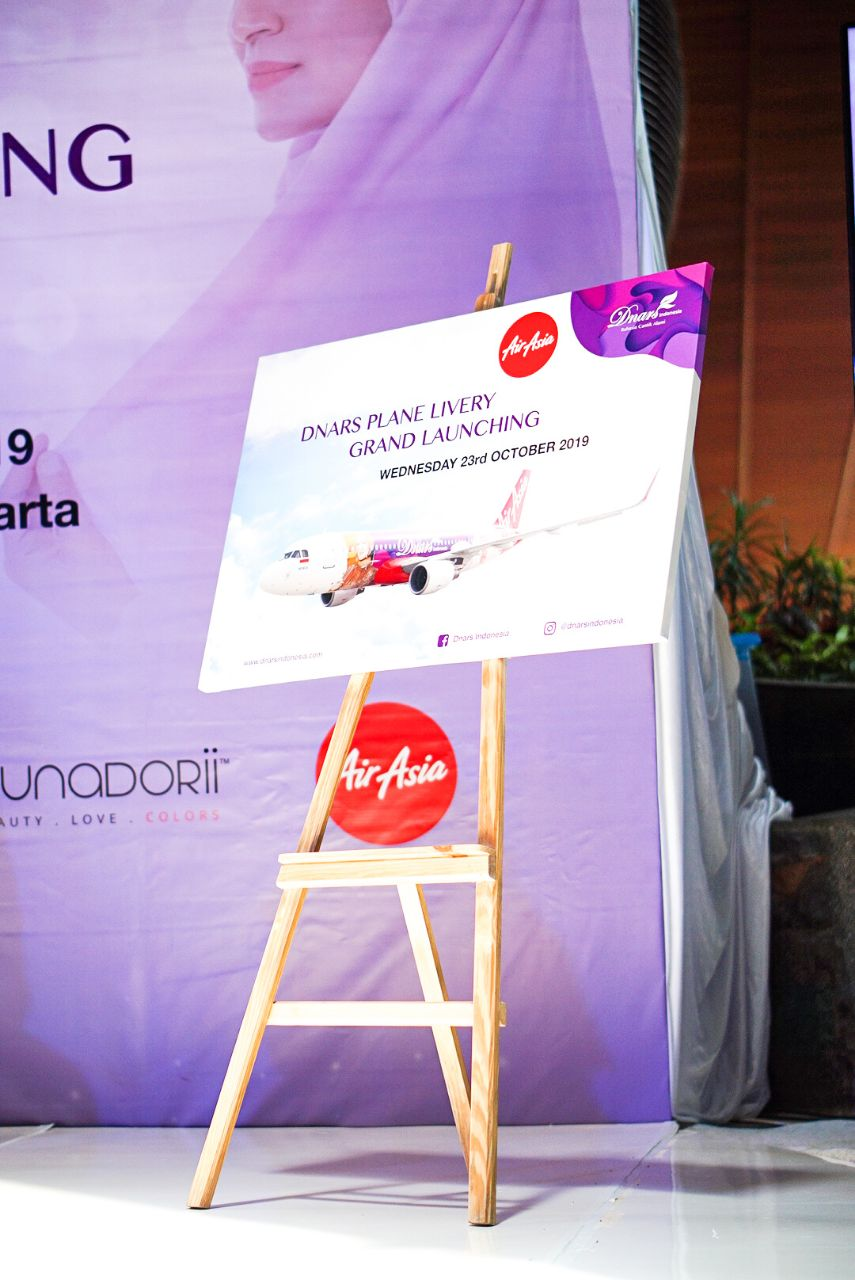 Event Grand Launching - Dnars Plane Livery - Dnars Beauty Blogger Gathering 1