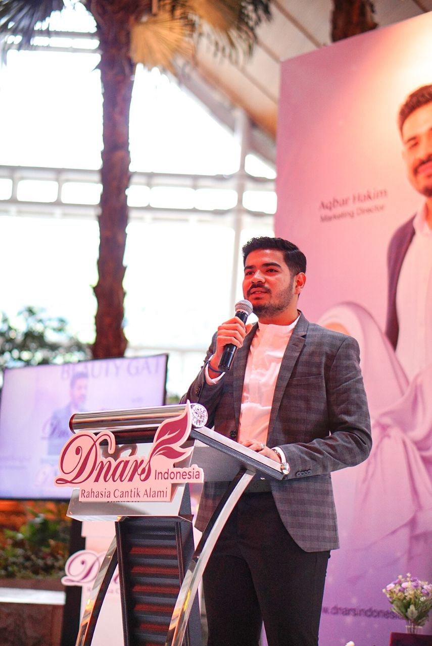Event Grand Launching - Dnars Plane Livery  - Aqbar Hakim Marketing Director Dnars