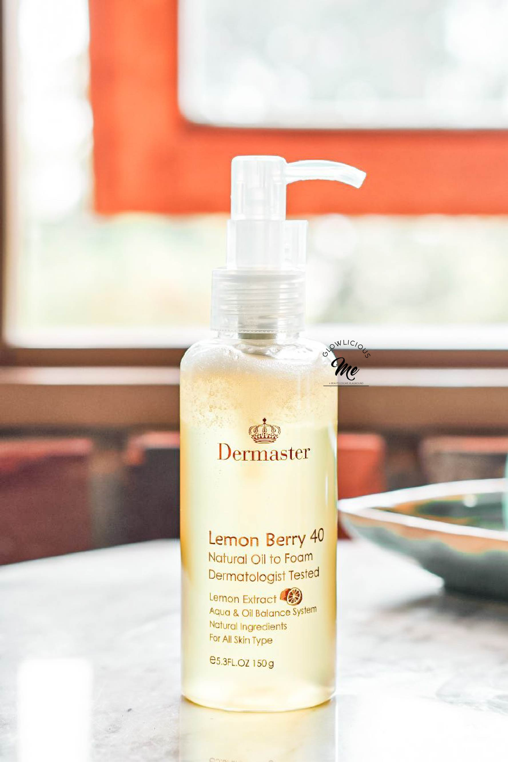 #GlowliciousMeFeatured – Dermaster Skincare - Review Dermaster Oil to Foam 2 In 1