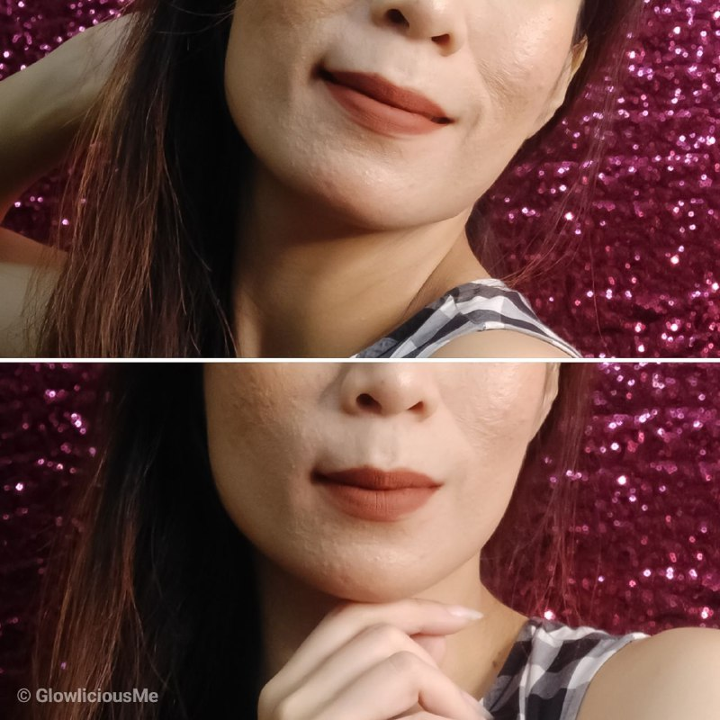 Looke Cosmetics Lip Creme , Gaia - Review 3