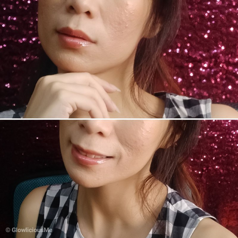 Looke Cosmetics Lip Polish Luna - Review 2