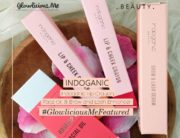 Review Indoganic Lip Crayon, Face Oil, & Brow and Lash Enhancer