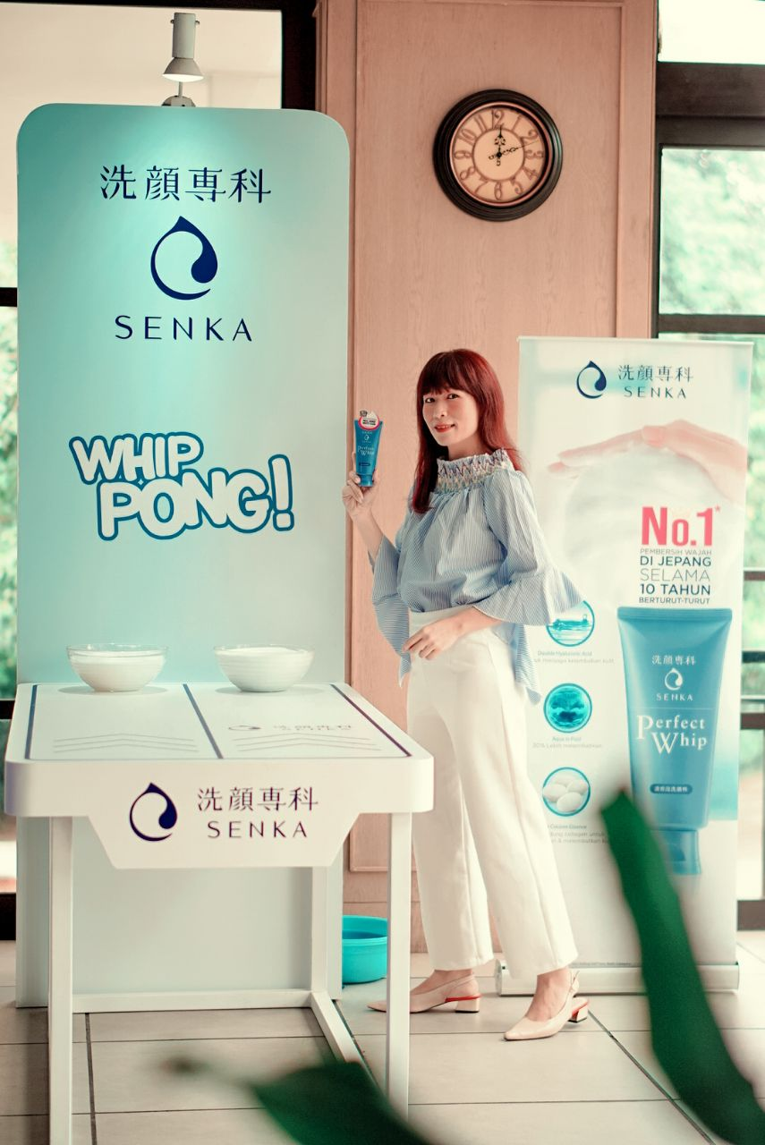 Senka Perfect Whip 210 Launching Event #MicroDenseFoam 5