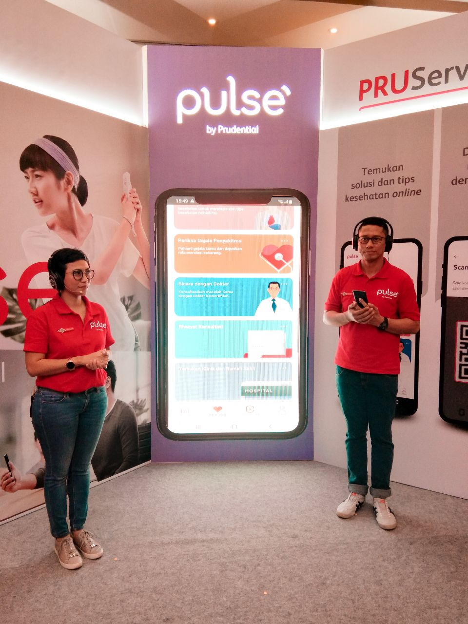 Event Preview Aplikasi Kesehatan Pulse By Prudential 2