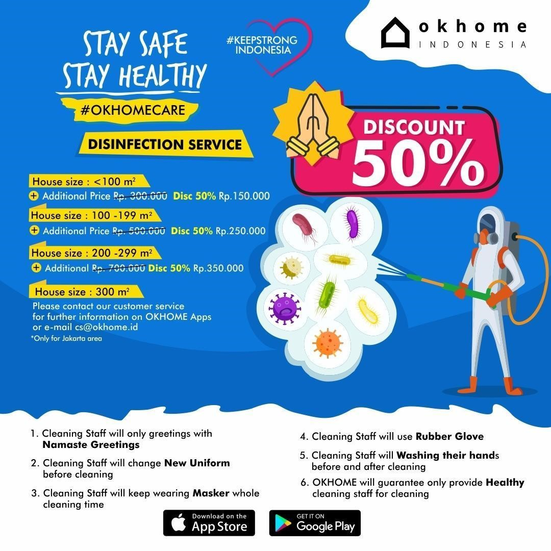 PROMO OK HOME CLEANING SERVICE SEPTEMBER 2020