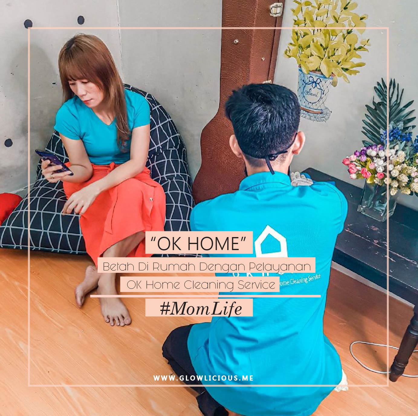 Review Pelayanan OK Home Cleaning Service 50-30-30