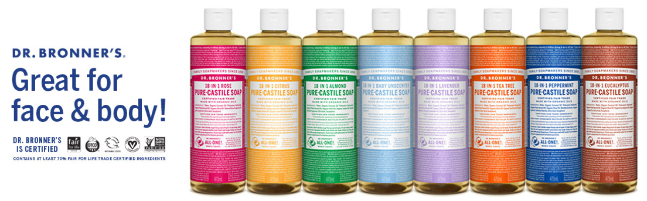 Review Sabun Multifungsi Vegan Organik - Dr.Bronners Soap Castile 1 in 18 9