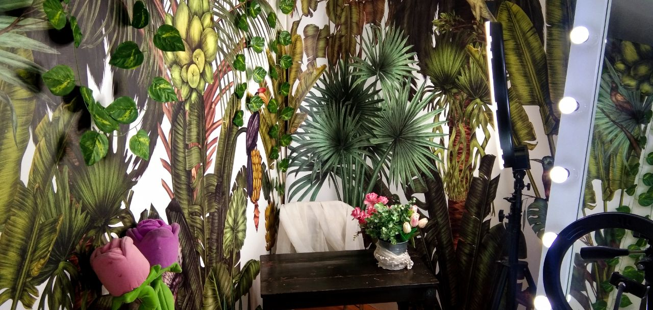 REVIEW Find The Birds In The Jungle Mural Background From PHOTOWALL SWEDEN 22