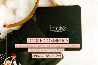 Review Looke Cosmetics Cushion Lokal shade untuk kulit putih IRISH 1000-39-39