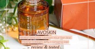 Review Your Skin Bae Avoskin Serum Lokal Indonesia 1